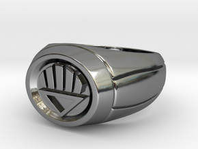 Black Lantern Ring in Premium Silver