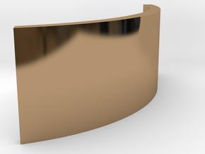ZE Buffer LGB in Polished Brass