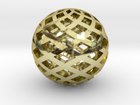Sphere, Small in 18k Gold
