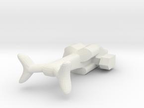 GunshipEscortEnlarged in White Strong & Flexible