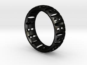 Bracelet classic 75 in Matte Black Steel