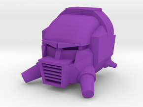 Customatron -  Nephthys Head in Purple Processed Versatile Plastic