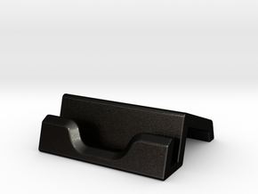iPad Stand V1 in Matte Black Steel