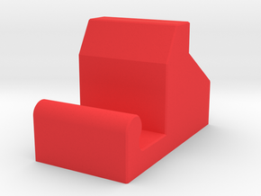 Smartphone Cradle in Red Processed Versatile Plastic