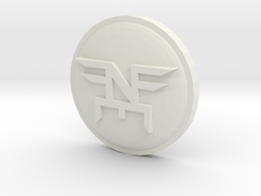 Neff Coin in White Natural Versatile Plastic
