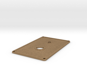 Base Plate in Natural Brass