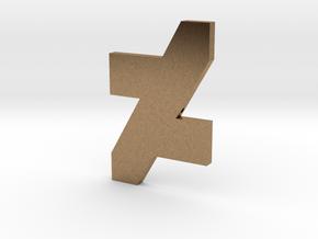 DA Logo 2 Normal CH2 in Natural Brass