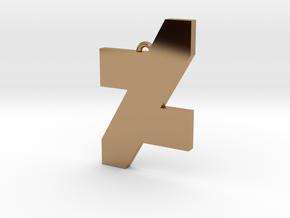 DA Logo 2 Normal CH5 in Polished Brass
