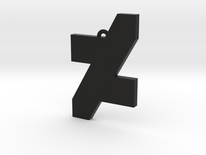 DA Logo 2 Normal CH5 in Black Natural Versatile Plastic