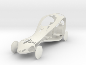Car FullScale (repaired) in White Strong & Flexible