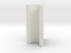 OD Sander V2, .2mm, 30mm Length in White Natural Versatile Plastic
