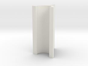 OD Sander V2, .3mm, 30mm Length in White Natural Versatile Plastic