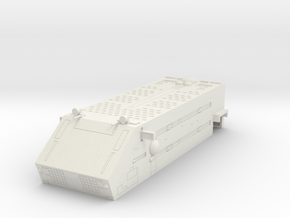 LoGH Imperial Carrier 1:3000 (Part 4/4 : Walküre) in White Natural Versatile Plastic