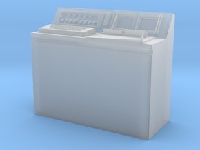 Hold Computer Console in Smooth Fine Detail Plastic