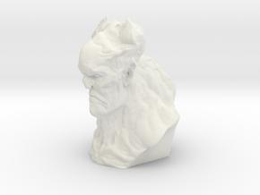 Last Demon in White Natural Versatile Plastic