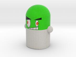 Green Pillock Mini in Full Color Sandstone
