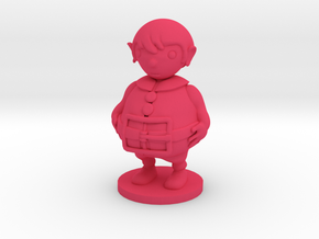 Little boy in Pink Processed Versatile Plastic