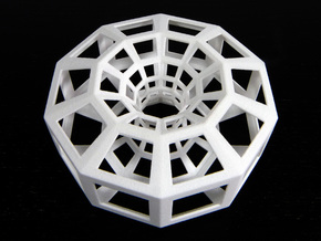 Polygonal torus in White Natural Versatile Plastic