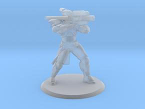 Defender Rocket Miniature in Smoothest Fine Detail Plastic