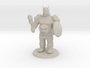 Ogre Boss in Natural Sandstone