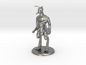 Ant Warrior (no weapon) in Natural Silver