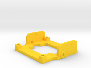 Tilt Frame for 32x32 cameras in Yellow Processed Versatile Plastic