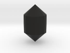 Small Gem in Black Natural Versatile Plastic