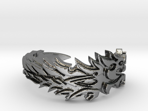 Ebonheart Pact Ring Size 12 in Fine Detail Polished Silver