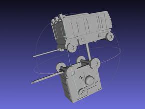 1/144 Ground Equipment Set 2 in Smooth Fine Detail Plastic