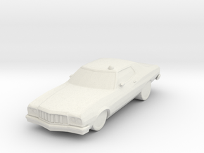 !976 Torino  in White Natural Versatile Plastic