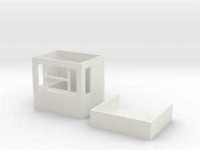 Kasse H0 in White Natural Versatile Plastic