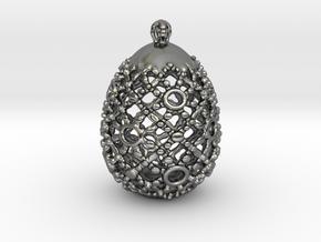 PA PFabergeV1fSE527xD24x30 in Fine Detail Polished Silver