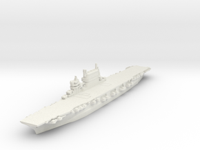 1/2400 Lexington Class CV (1944) in White Natural Versatile Plastic