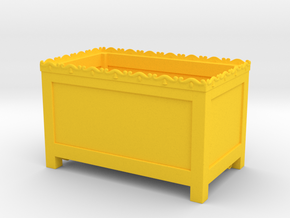 Ark of the Covenant - box in Yellow Processed Versatile Plastic
