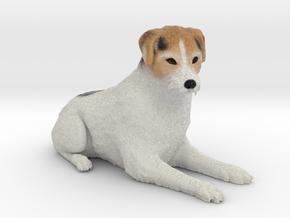 Custom Dog Figurine - Shelby in Full Color Sandstone