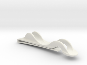 Notebook Pencil Holder in White Natural Versatile Plastic