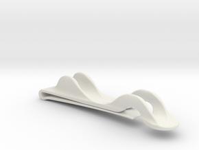 Notebook Pencil Holder in White Natural Versatile Plastic