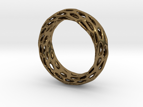 Trous Ring S10 in Polished Bronze