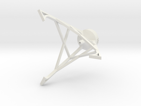 Bottle Stand - 3Dponics in White Natural Versatile Plastic