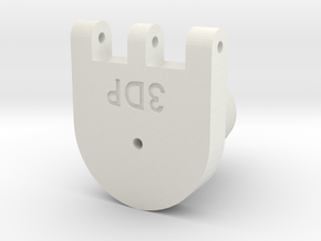 Receiver - 3Dponics Non-Circulating Hydroponics in White Natural Versatile Plastic