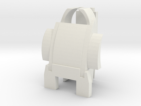 Customatron - Filletron - Sekhmet - Backpack Add o in White Strong & Flexible