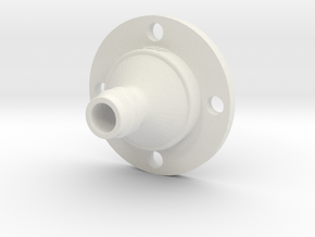Drip Nozzle (3/4 Inch, 4 Holes) - 3Dponics  in White Natural Versatile Plastic