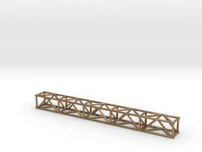 "10' 12""sq Box Truss 1:48 in Natural Brass"