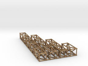 "12""sq Box Truss 1:48 in Natural Brass"