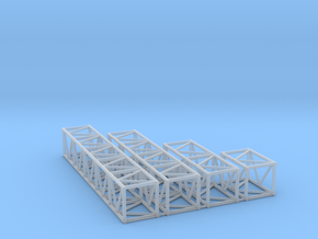 "20.5""sq Box Truss Sampler 1:48 in Smooth Fine Detail Plastic"