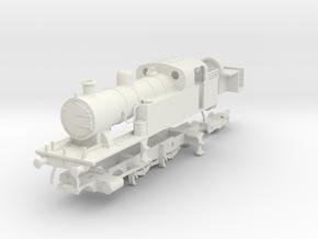 LMS (Ex LT&SR) 442 tank loco (superheated) in White Natural Versatile Plastic