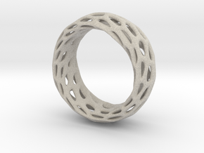 Trous Ring Size 4 in Natural Sandstone