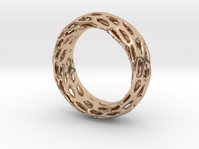 Trous Ring Size 8 in 14k Rose Gold