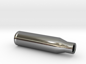 Bullet 1/2 in Polished Silver