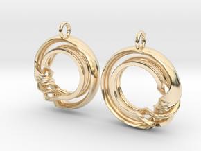 Ear-Rings-Fantasy-07 in 14K Yellow Gold